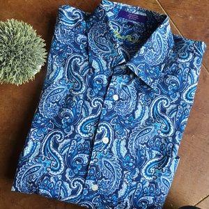 Men's Alan Flusser button down shirt